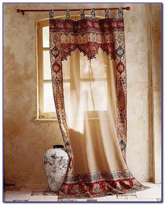 Vorhang Orientalisch Gold