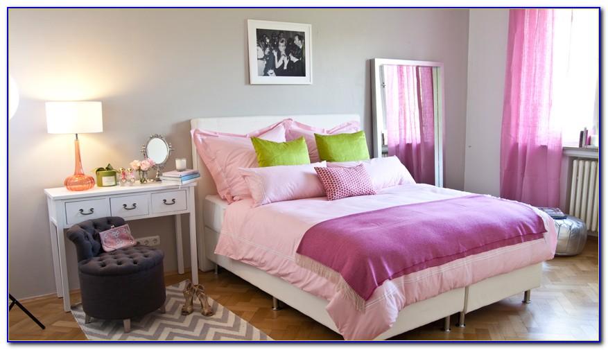 Vorhang Pink Blickdicht