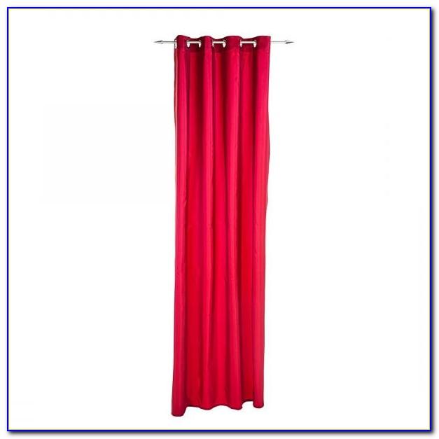 Vorhang Pink Weiß