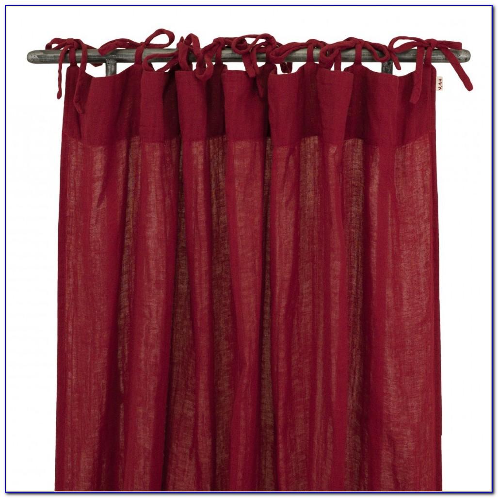Vorhang Rot Orange