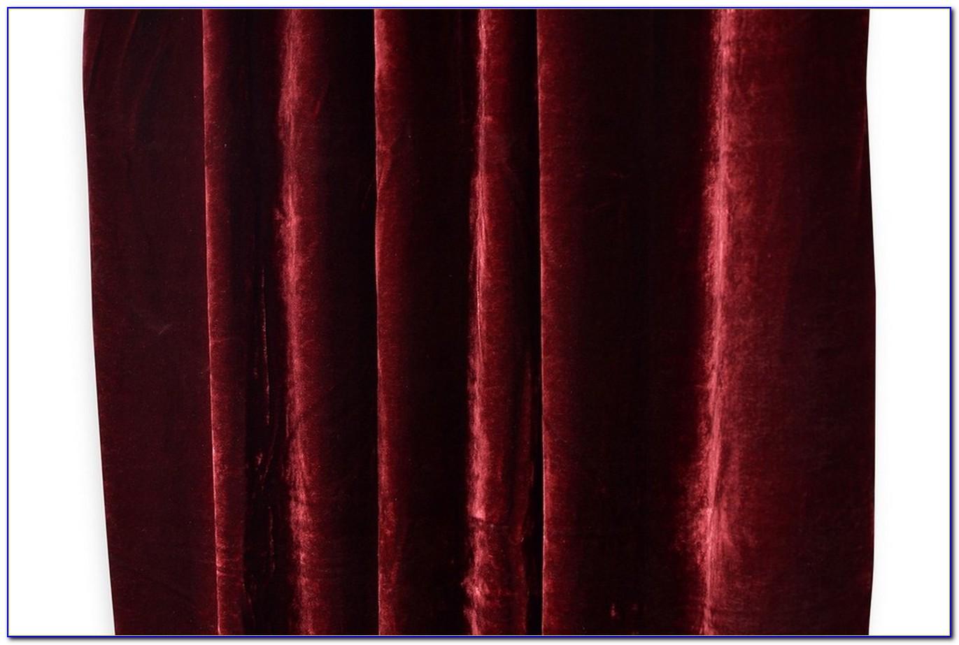 Vorhang Rot Weiß Kariert