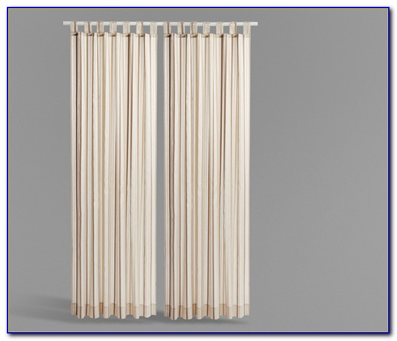 Vorhang Schals Weiß