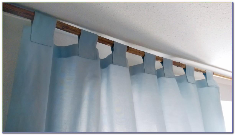 Vorhang Schlaufen Selber Nähen