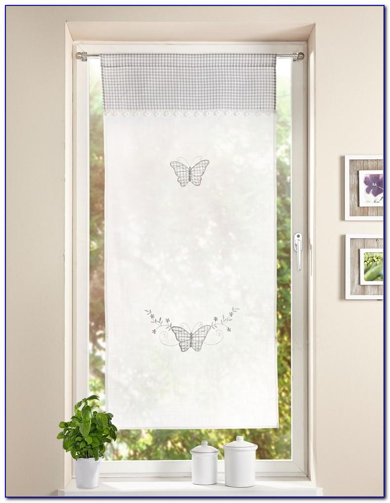 Vorhang Schmetterling Rosa