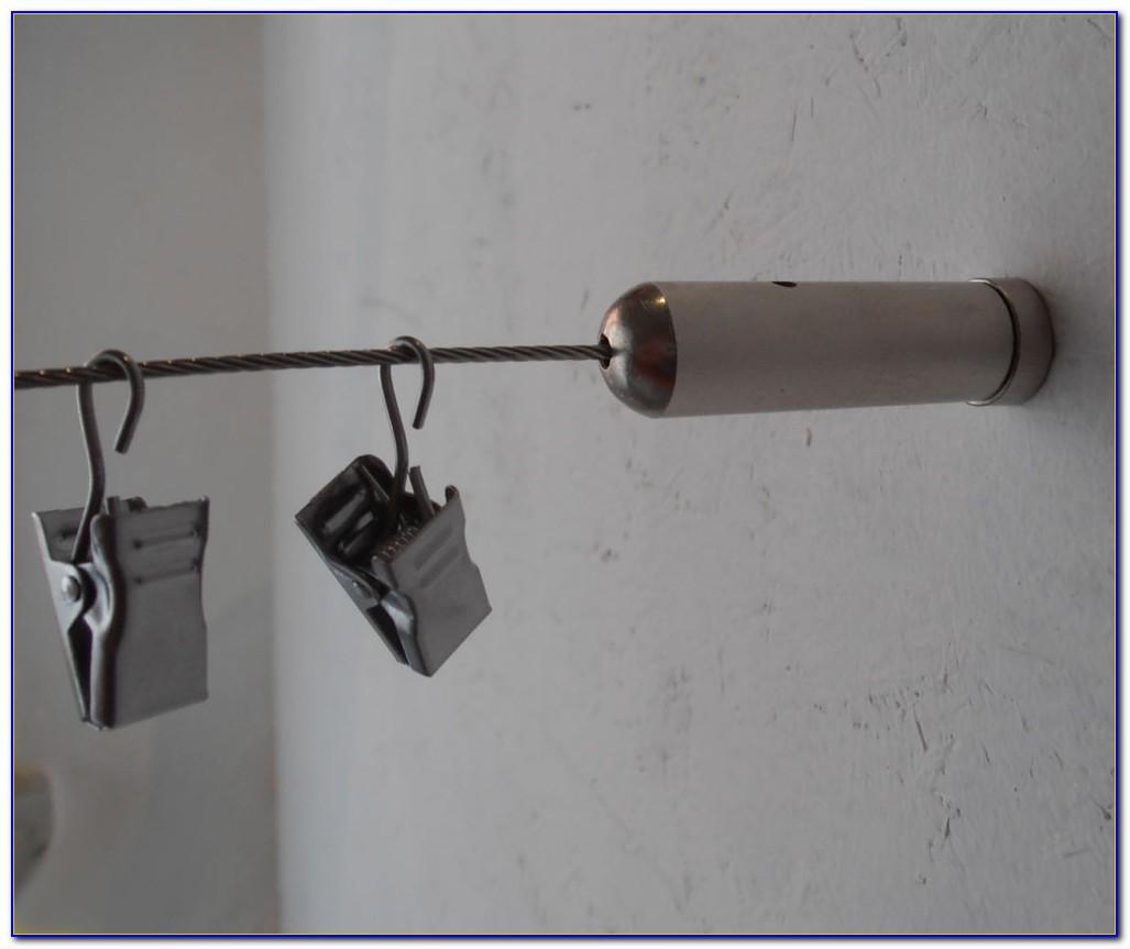 Vorhang Seilsystem Edelstahl