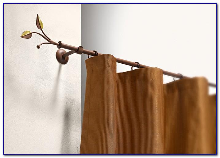 Vorhang Stangen Holz