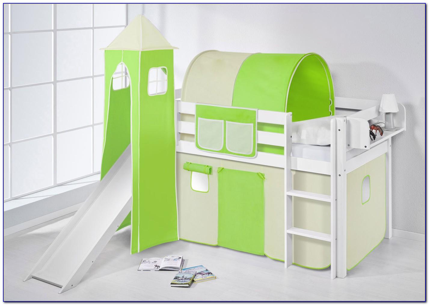 Vorhangstoff Kinderbett