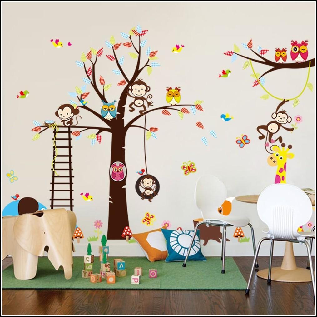 Wandsticker Tiere Kinderzimmer
