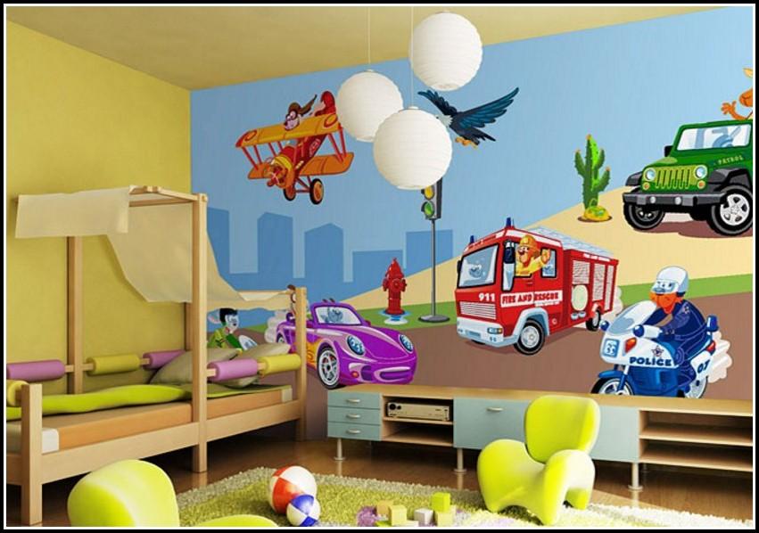 Wandtattoo Auto Kinderzimmer