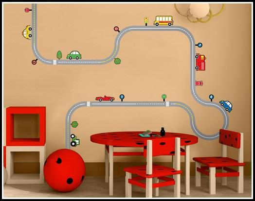 Wandtattoo Kinderzimmer Auto