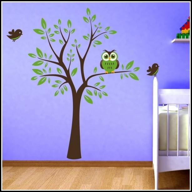 Wandtattoo Kinderzimmer Bäume