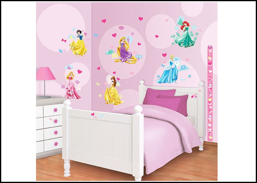 Wandtattoo Kinderzimmer Disney Princess