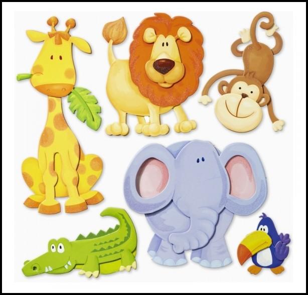 Wandtattoo Kinderzimmer Lustige Tiere