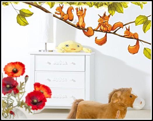 Wandtattoo Kinderzimmer Wilde Tiere