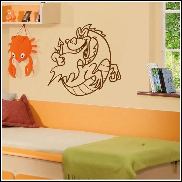 Wandtattoos Drachen Kinderzimmer