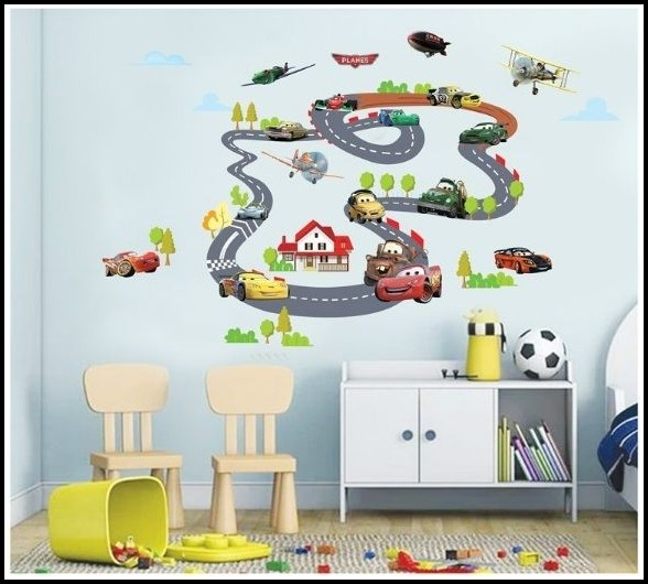 Wandtattoos Kinderzimmer Cars Auto