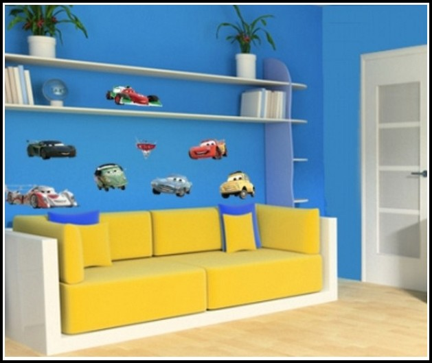 Wandtattoos Kinderzimmer Disney Cars