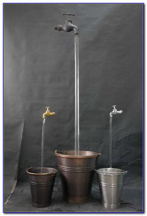 Wasserhahn Brunnen Garten