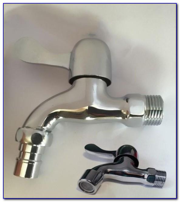 Wasserhahn Für Waschmaschine Lässt Sich Nicht Zudrehen