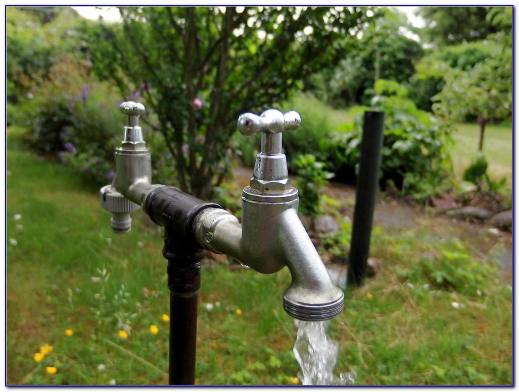 Wasserhahn Garten Obi