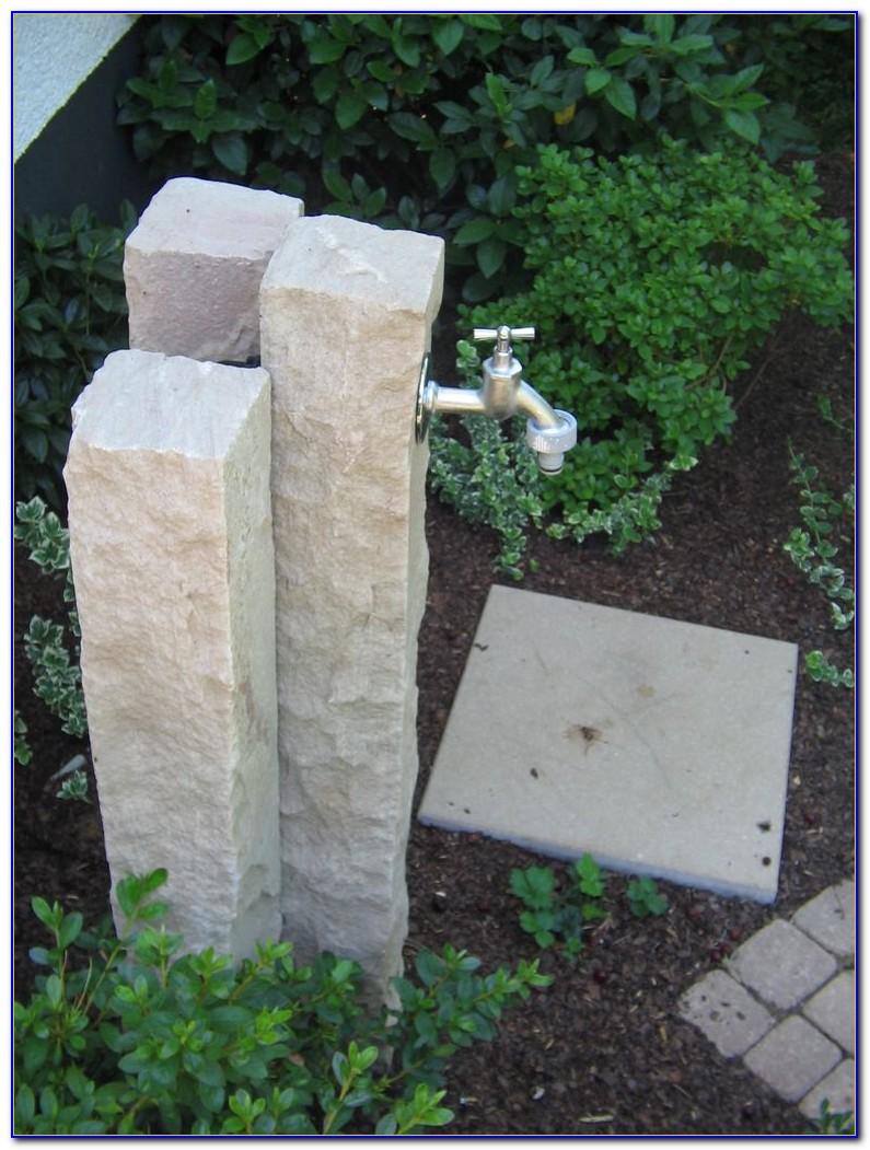 Wasserhahn Im Garten Selber Bauen