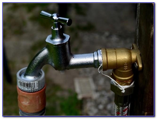 Wasserhahn Im Garten Verkleiden