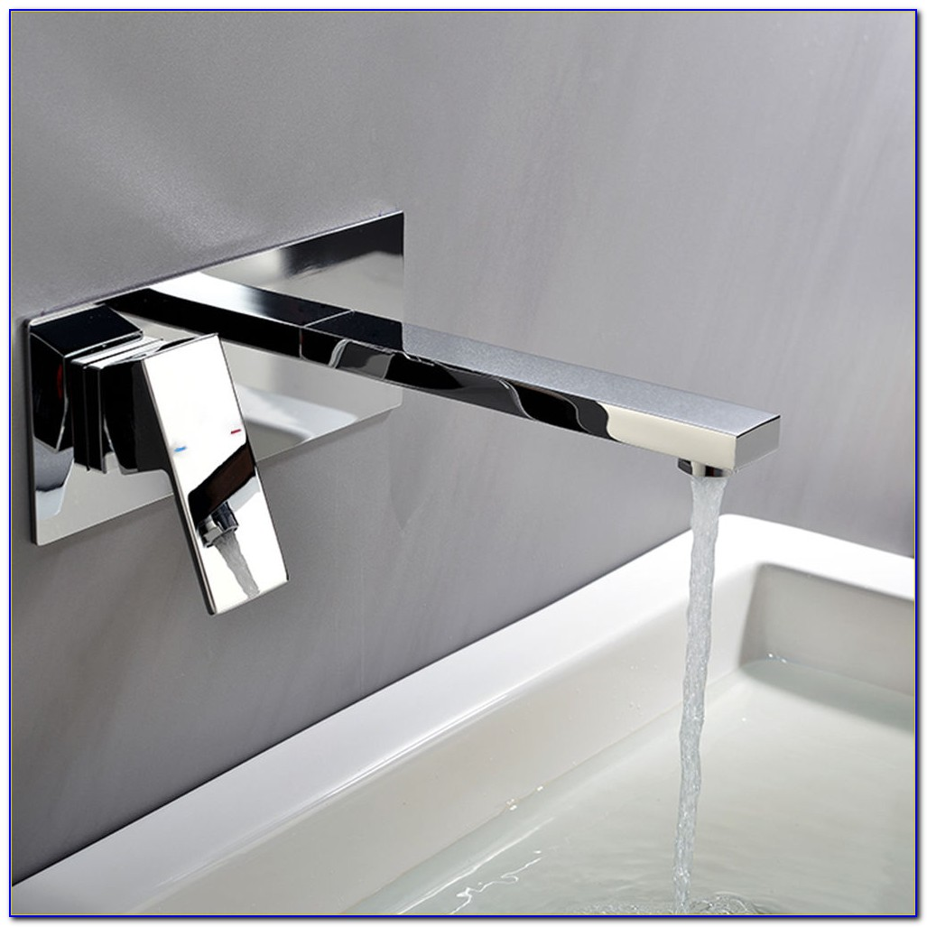 Wasserhahn Unterputz Montage