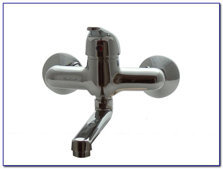 Wasserhahn Wandanschluss