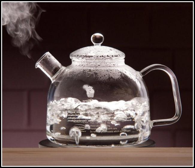 Wasserkocher Mit Glaskanne Led Beleuchtung