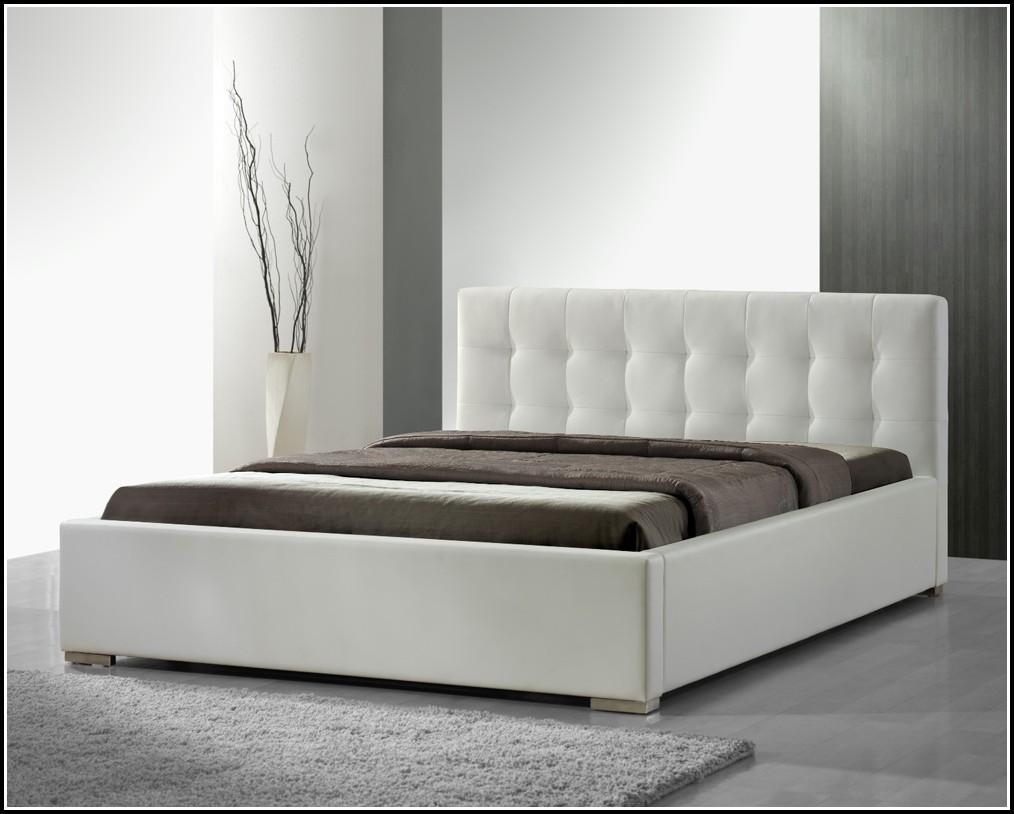 Weißes Bett 180×200 Holz