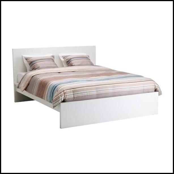 Weißes Bett 90×200 Ikea