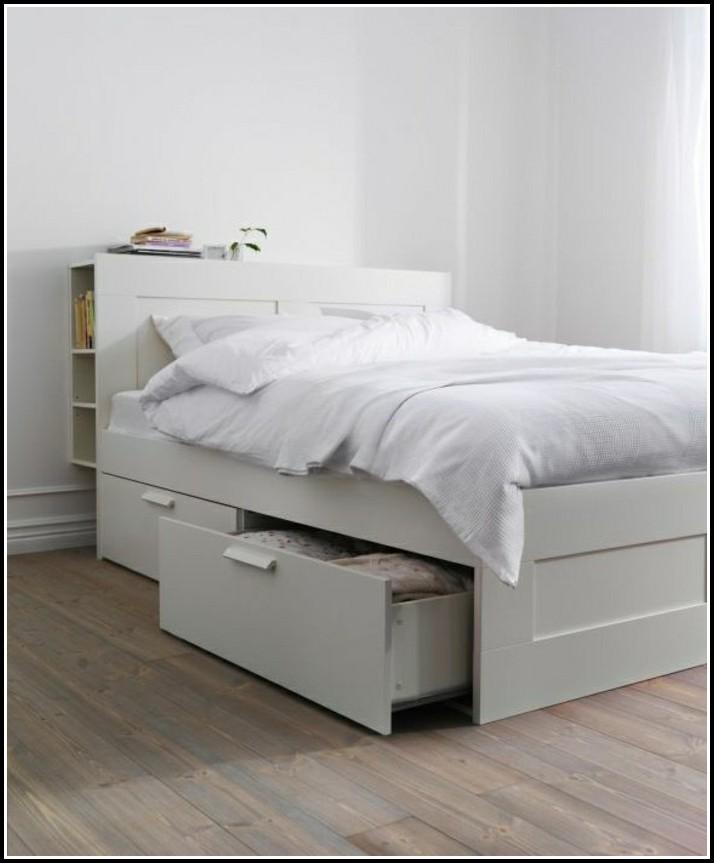 Weißes Bett Mit Schubladen