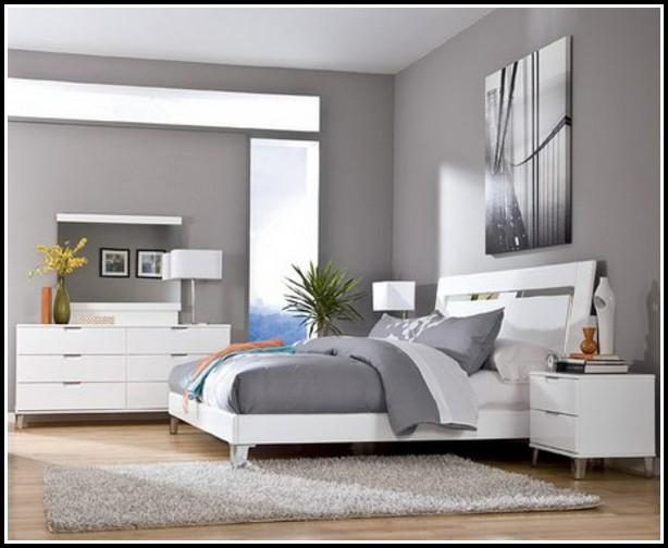 Weißes Schlafzimmer Wandfarbe