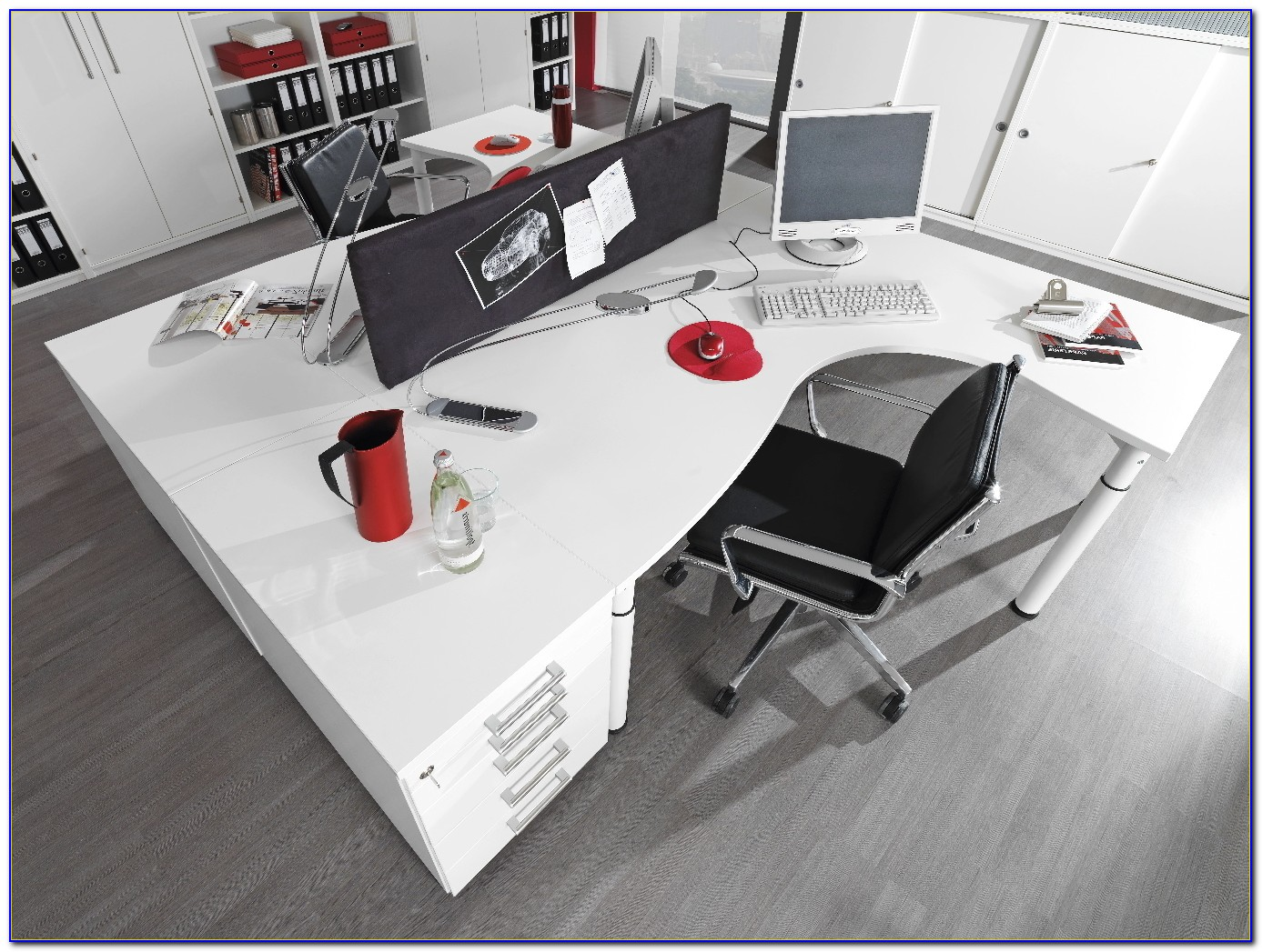 Welle Möbel Hyper Schreibtisch