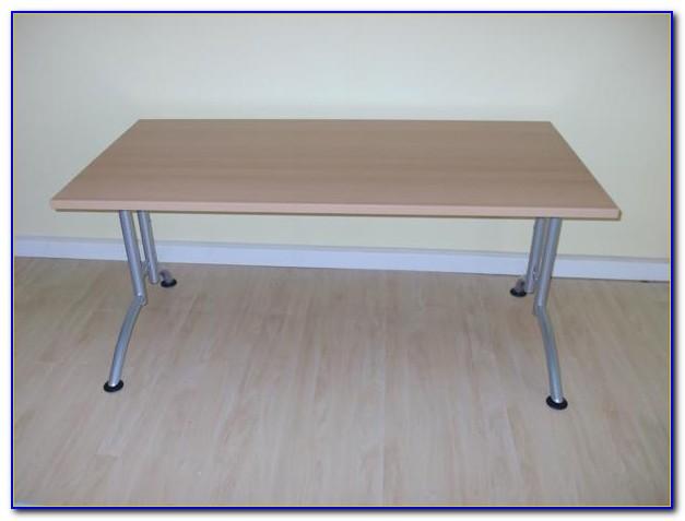 Welle Schreibtisch Weiß