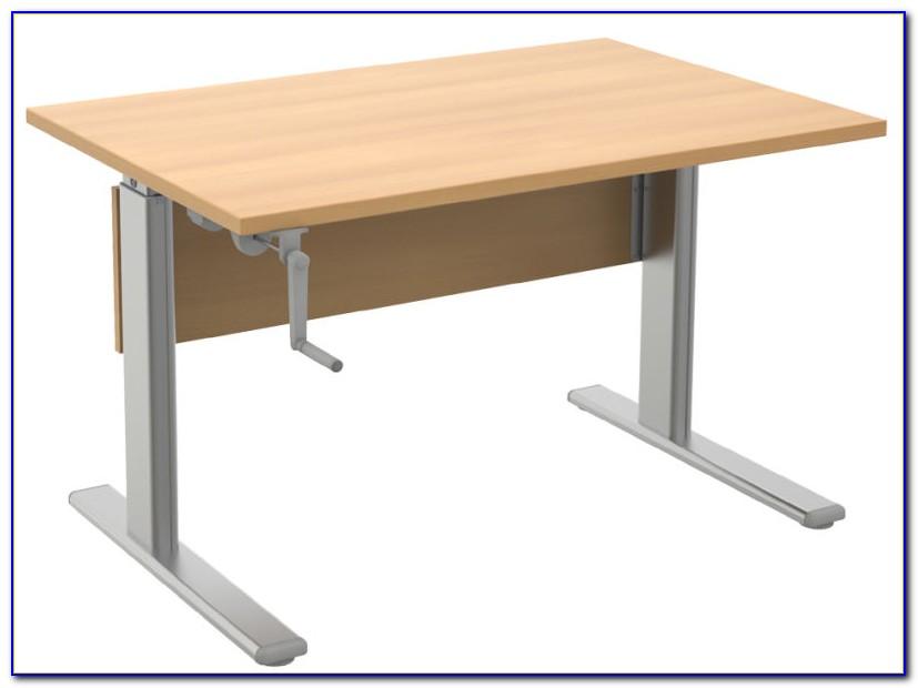 Wellemöbel Schreibtisch Ahorn