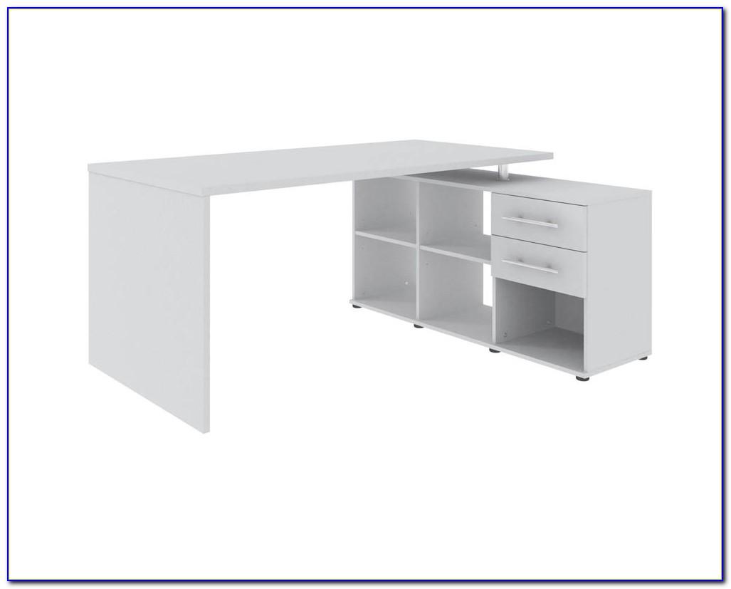 Wellemöbel Schreibtisch Weiß
