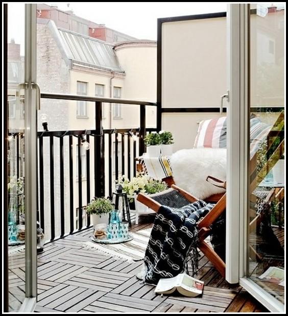 Wie Verlegt Man Fliesen Auf Dem Balkon
