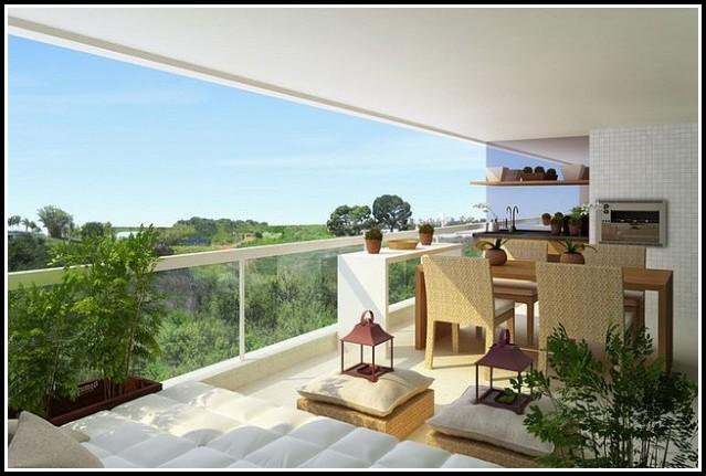 Windschutz Balkon Glas