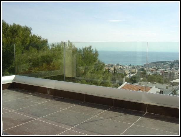 Windschutz Für Balkon Aus Glas