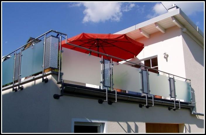 Windschutz Für Balkone Aus Glas