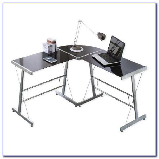 Winkelkombination Schreibtisch Ahorn