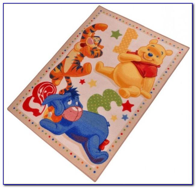 Winni Pooh Teppich Groß