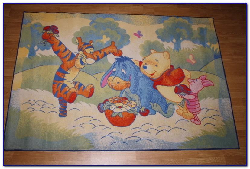 Winnie Pooh Teppich Rot