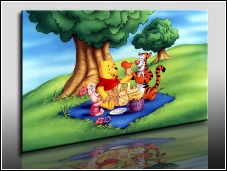 Winnie Pooh Vorhänge Kinderzimmer