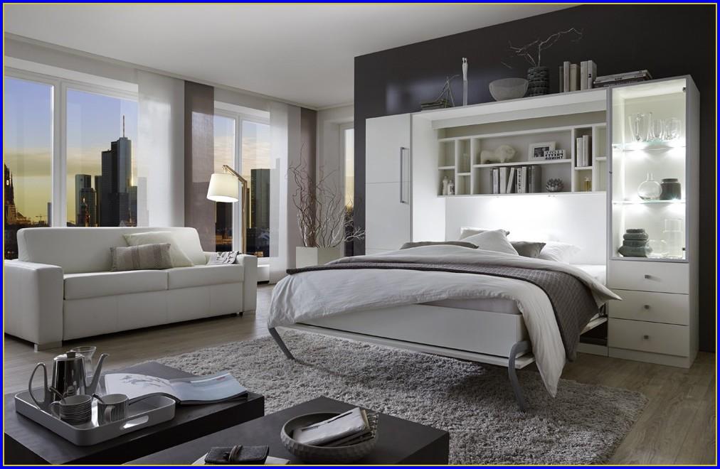 Wohnwand Mit Bettfunktion