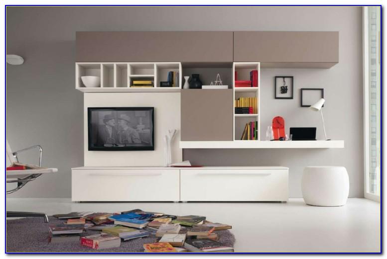 Wohnwand Mit Schreibtisch Ikea