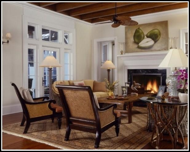 Wohnzimmer Im Kolonialstil Dekoration