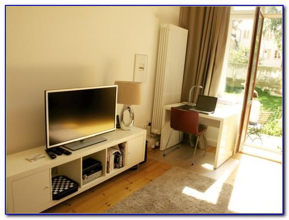 Wohnzimmer Mit Schreibtisch Einrichten