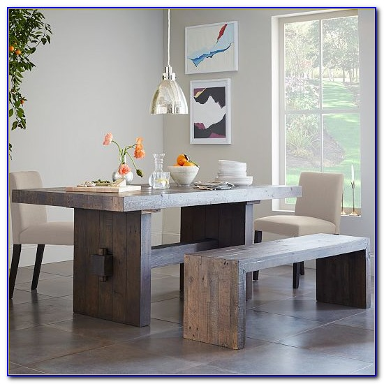 Wooden Bench Dining Sets
